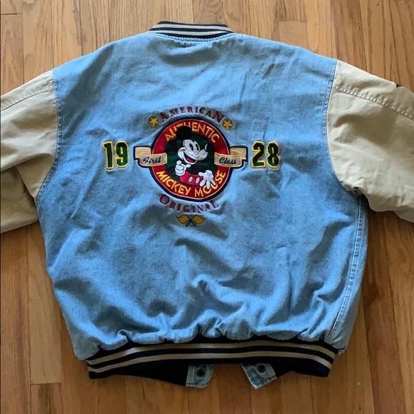 Vintage Mickey mouse jacket